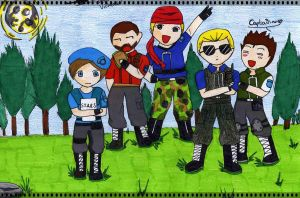 RE1 +S.T.A.R.S Unit+ by ShadowDark1