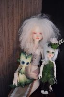 Doll family (old) by iamwinterborn
