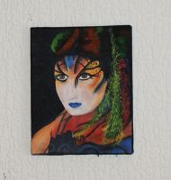 2nd tattoo inspired painting by Manicmosaics