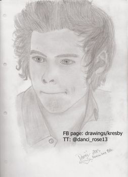 Harry Styles by 13luckyone