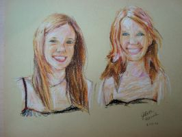 My Sister and I by jobethlovess