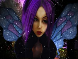 Purple Butterfly by muertosdesigns