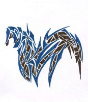 South American horse by Paintsmudger