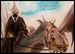 Witch King of Angmar by aadiss