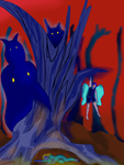 Forest scene attempt 2 by Envy-is-my-god