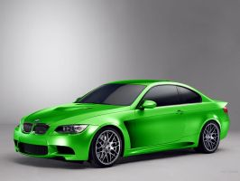 BMW 3 Coupe M Cosworth #green by TeofiloDesign