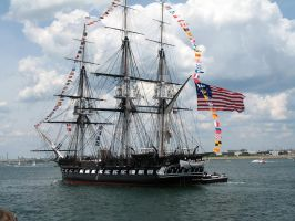 U.S.S. Constitution Old Ironsides by StephenBarlow