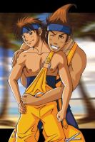 Wakka and Chappu by sinner18th