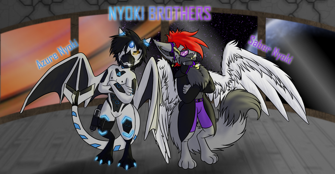 The Nyoki Brothers by Maverik-Soldier