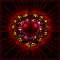 Fractal Heart by baba49