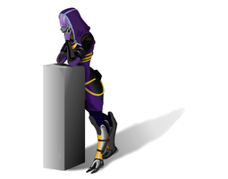 Tali - Coloured by Troodon80