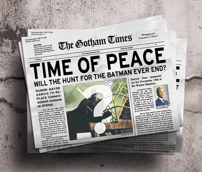 Gotham Times Issue Number One by garrettrussell