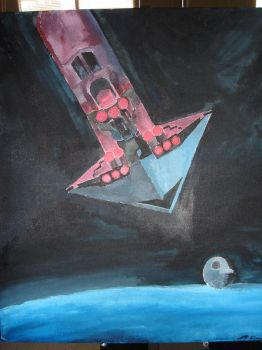 Executor Arrival painting by slipstreamtactics