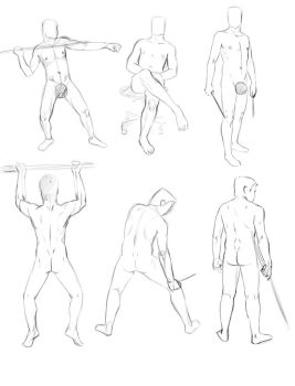 life drawing sketches by sofmer