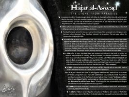 Hajar al-Aswad (The Black Stone from Paradise) by AhmedSadoon