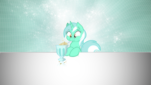 Lyra makes some bubbles by romus91