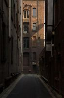 Early morning alley by litecreations