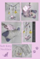 Kitty Cat Polymer Clay Charm by Lisas-Art-Endeavors