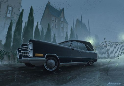 Hearse by wavenwater