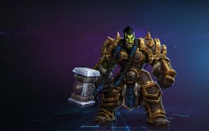 Thrall (Warcraft) by Airachnid1301