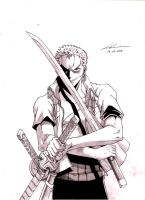 evil Roronoa Zoro - One Piece by marvelmania