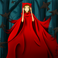 Little Red Riding Hood by NissaNii