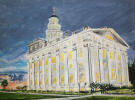 Nauvoo, IL LDS Temple by Ridesfire