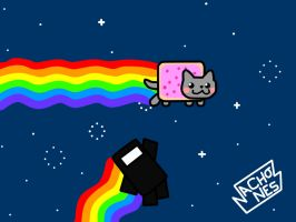 Nyan Cat and Commander Video by NachoXnesS