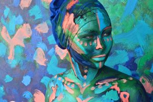 Bodypainting - grace by mihepu