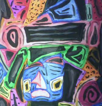Cubism: Heartless Woman by inuyako