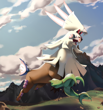Silvally by PinkGermy