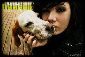 Puppy Kisses by amandaWAY