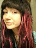 new hair added color by rainbow-cunt