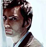 Doctor who - Doctor 10 by SoAdventure
