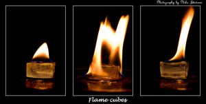 Flame Cubes by Lorvija