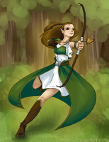 Nahemi the archer by Nahemii