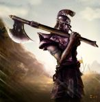 Warrior in the war by Iury-max