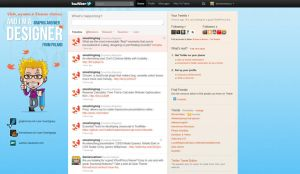 Twitter profile background by watracz