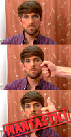 smosh: ian wearing makeup by mont3r0
