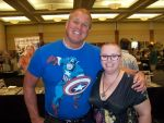 Me with Reb Brown by gurihere