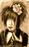 Bass player Kisaki by Kluste