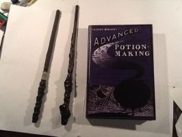 Some Potter props I've made..l.. by MelieseReidMusic
