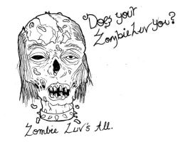 ZombieWuv by Lycan-fennex