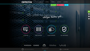 Oktilyon Interface Design by FetihAkdogan