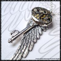 Steampunk Key 9 by SoulCatcher06