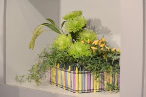 Topsfield Fair Flower Show, Flower Art 8 by Miss-Tbones