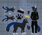 Flare Ref 2015 by Kittykat-Meow