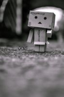 Lost Danbo by cazt1811