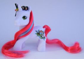 OOAK Pony Sushi Me Updated by eponyart