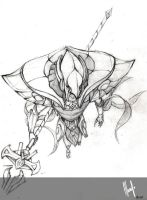 practice challenge League of Legends : Azir by TsukimayAlessandra